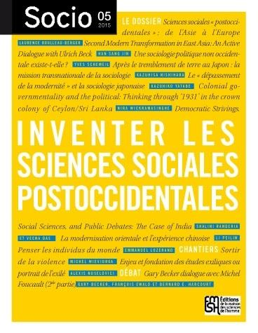 Socio n° 5 - Inventer les sciences sociales postoccidentales