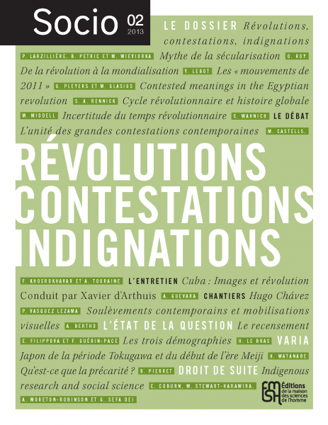 Socio n°2 - Révolutions, indignations, contestations