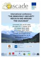 The CASCADE's Final Conference: The Democracy-Security Nexus in and around the Caucasus