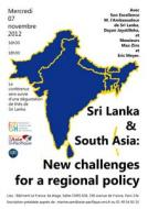 Sri Lanka and South Asia : New challenges for a regional policy